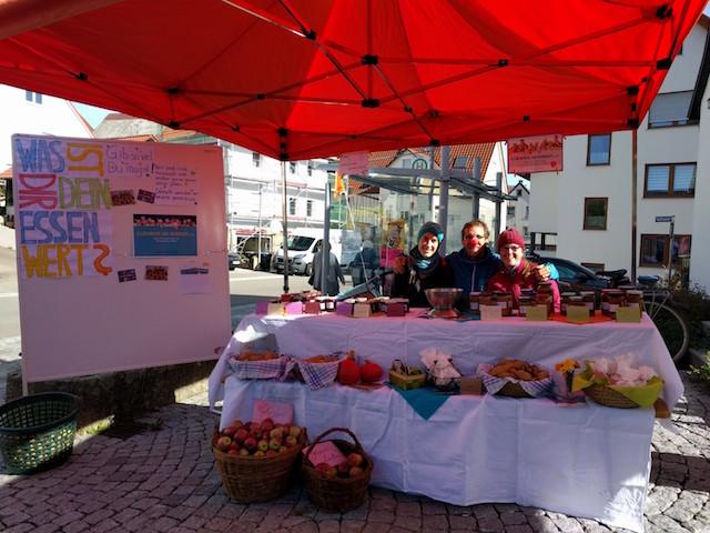 Walddorfhäslacher Ackerfreunde sammeln 458,79 Euro beim Herbstmarkt
