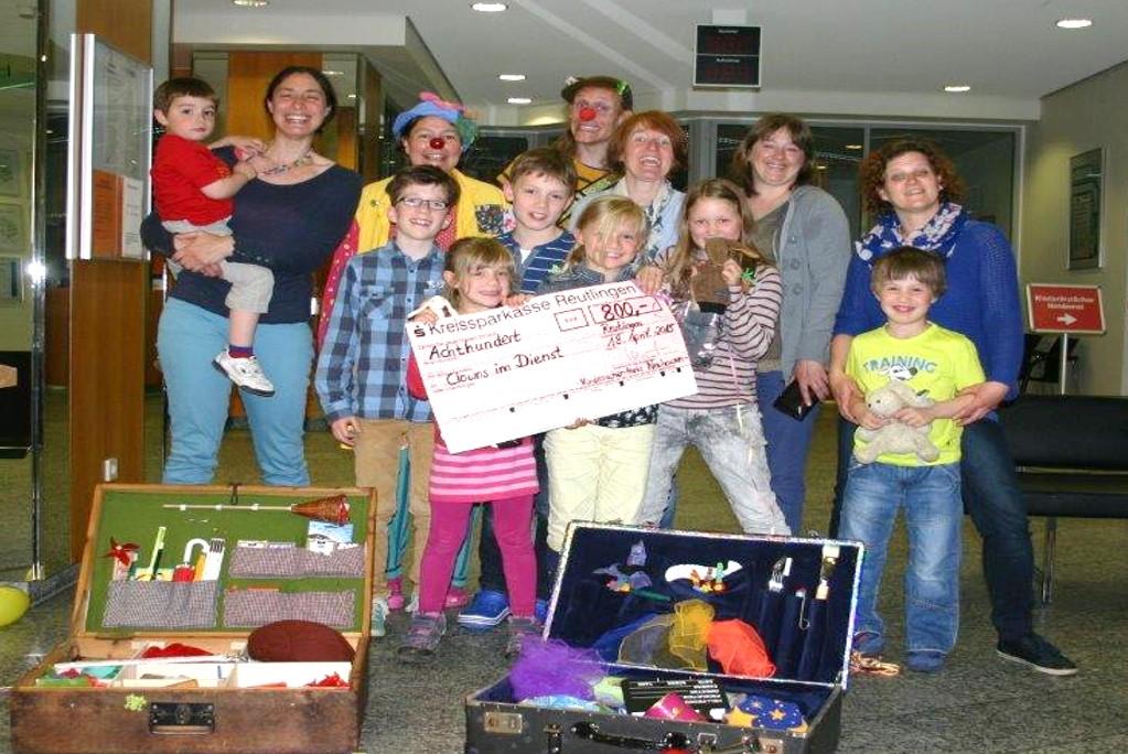 Spendenübergabe Kinderklinik Reutlingen